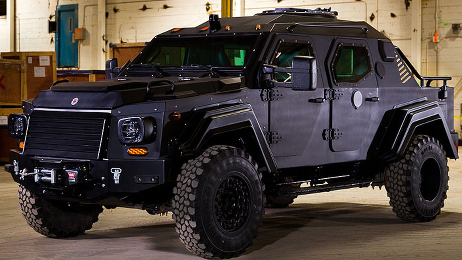 Six Door Truck For Sale >> J.R. Smith is now driving an armored military vehicle - SBNation.com