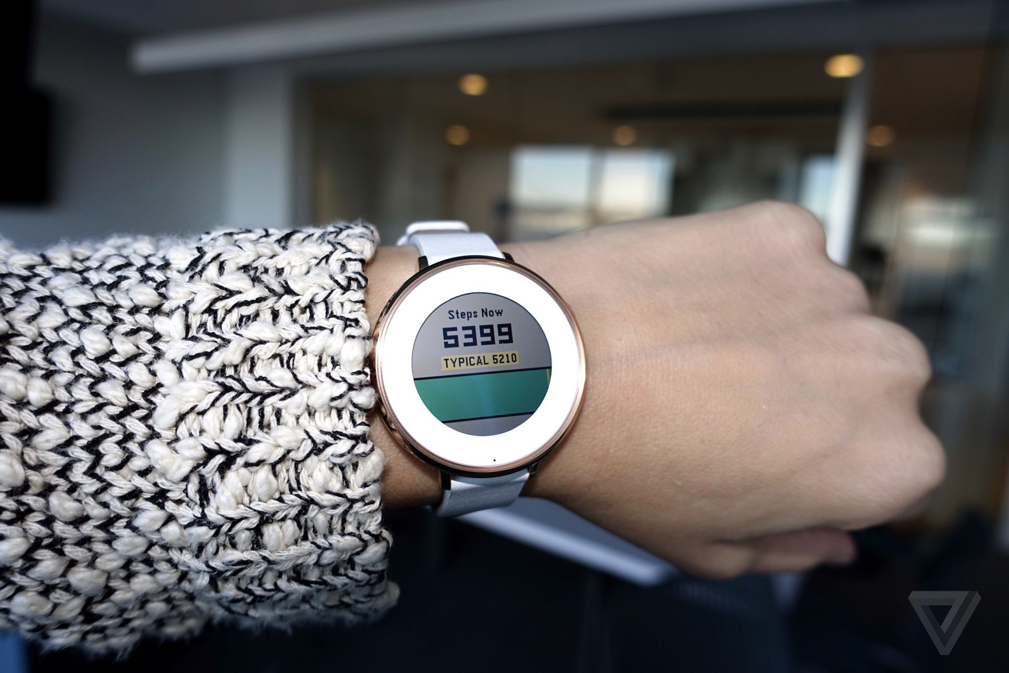The Pebble smartwatch finally does real fitness tracking ...