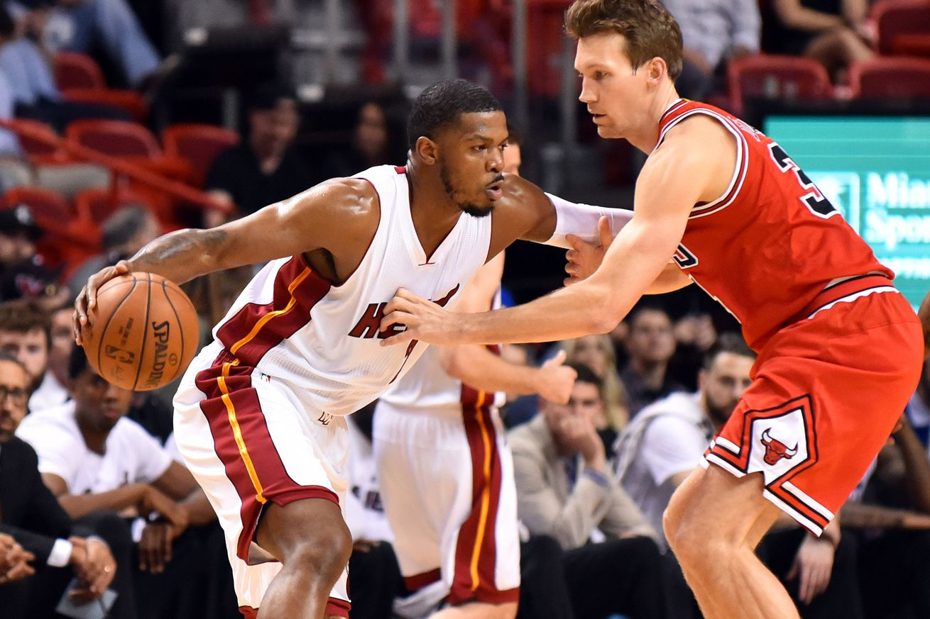 Joe Johnson in starting lineup in Heat debut