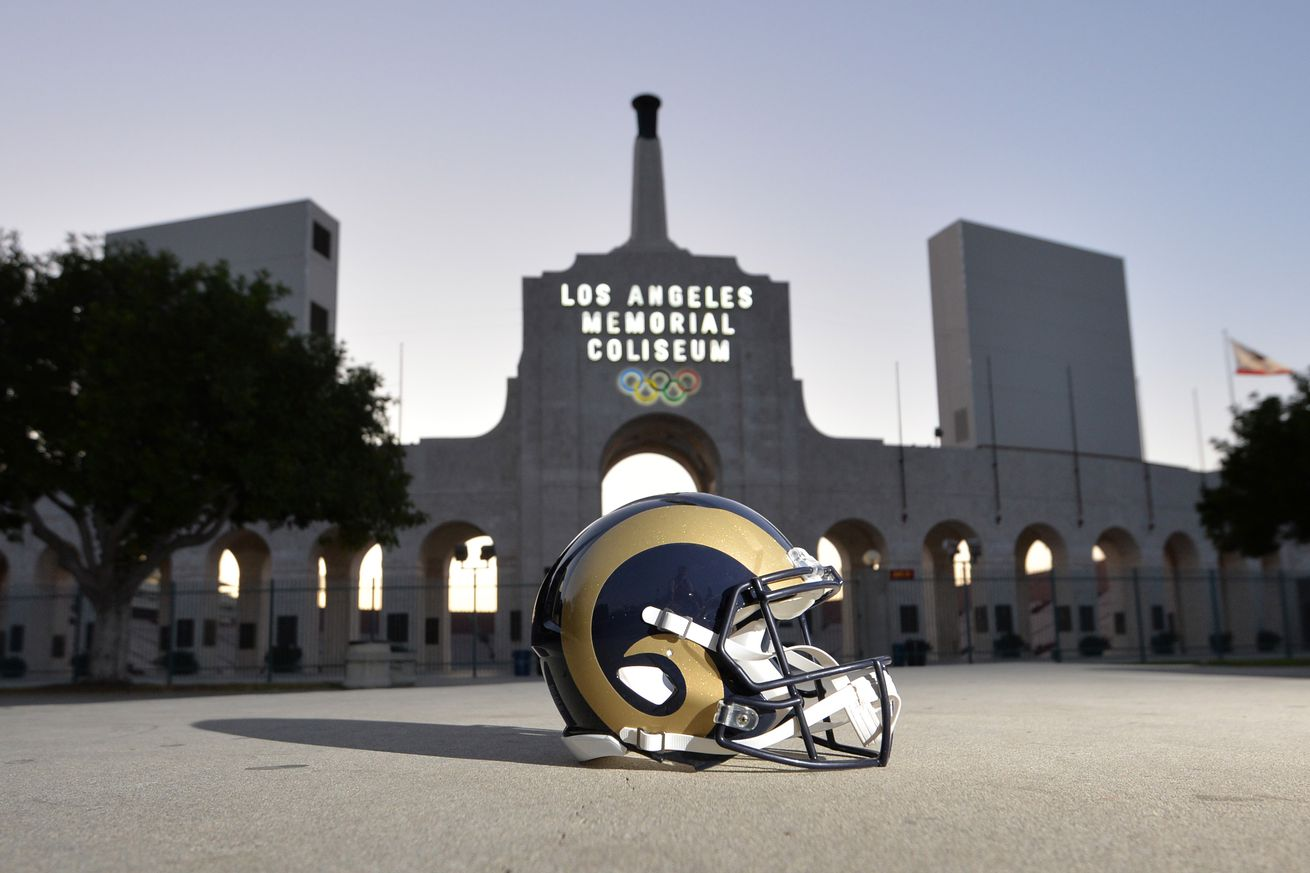 Los Angeles Rams 2016 Nfl Schedule Released Turf Show Times