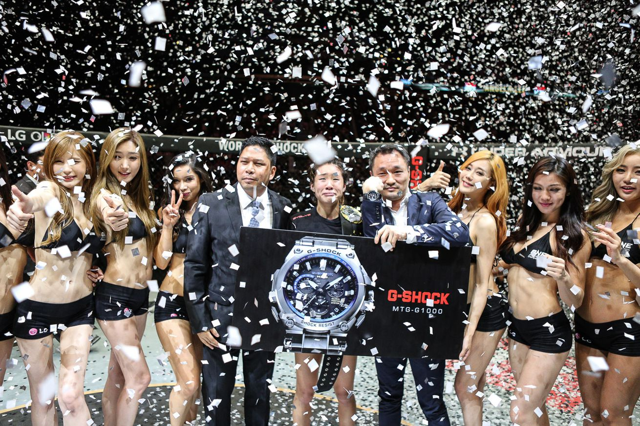 Angela Lee, Roger Gracie capture championship titles at ONE: Ascent to Power