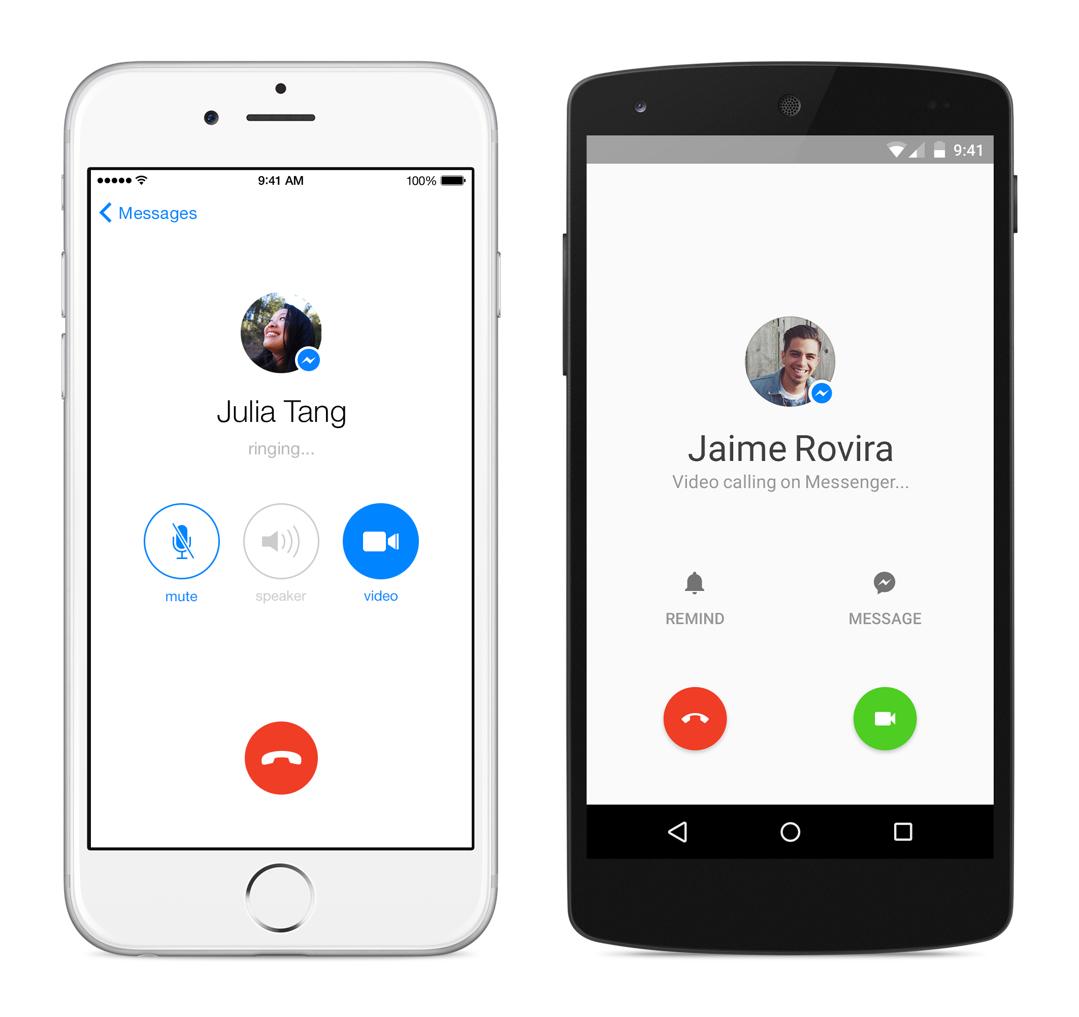 Facebook Messenger Adds Free Video Calling To Take On