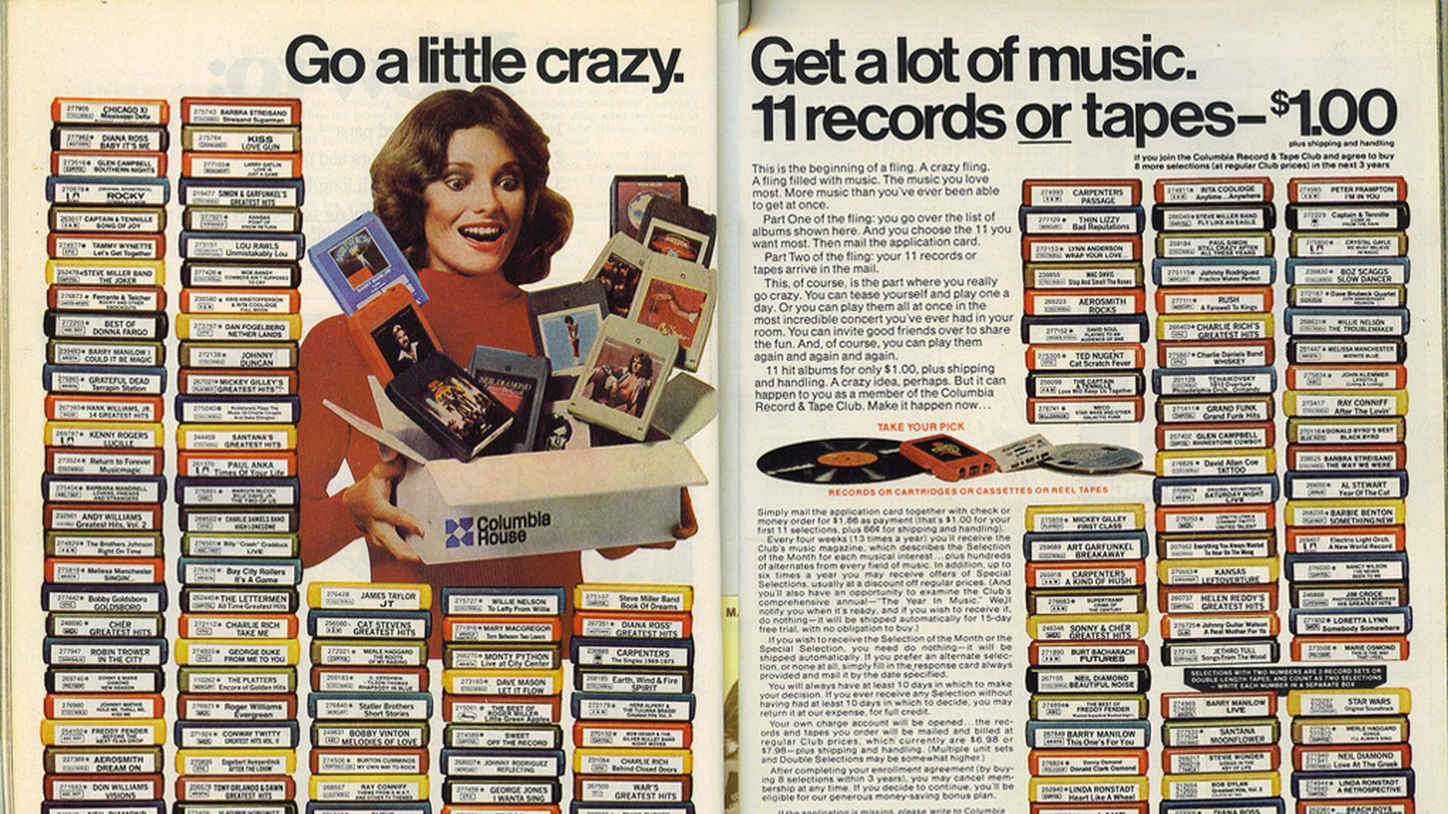 Columbia House The Spotify Of The 80s Is Dead The Verge