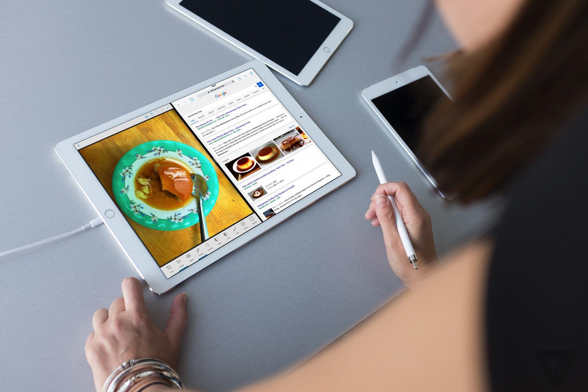 Jedinen tablet iPad, pro Tablety se kupuj