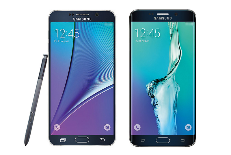 Official Samsung Note 5 and Galaxy S6 Edge Plus images leaked