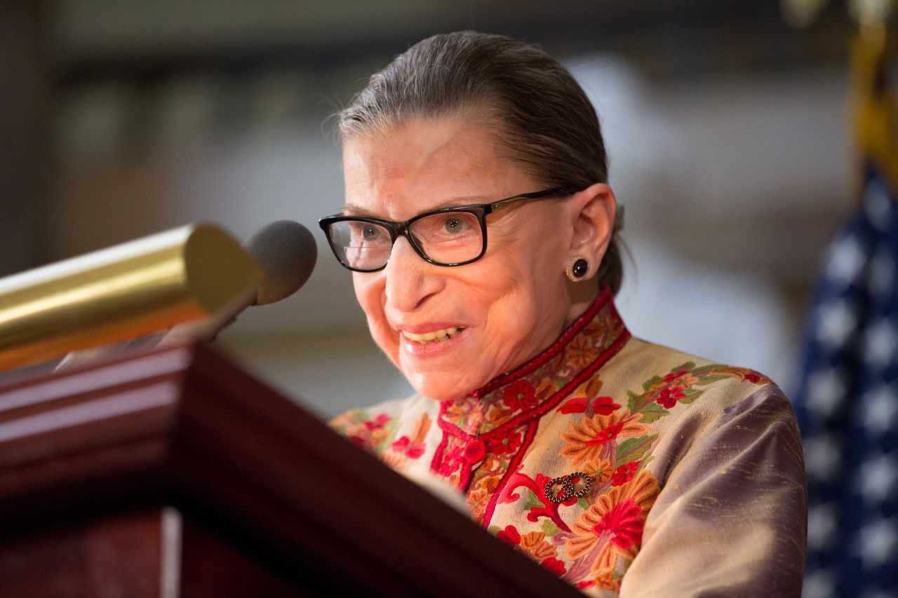 Ruth Bader Ginsburg: 'I regret making' Donald Trump remarks
