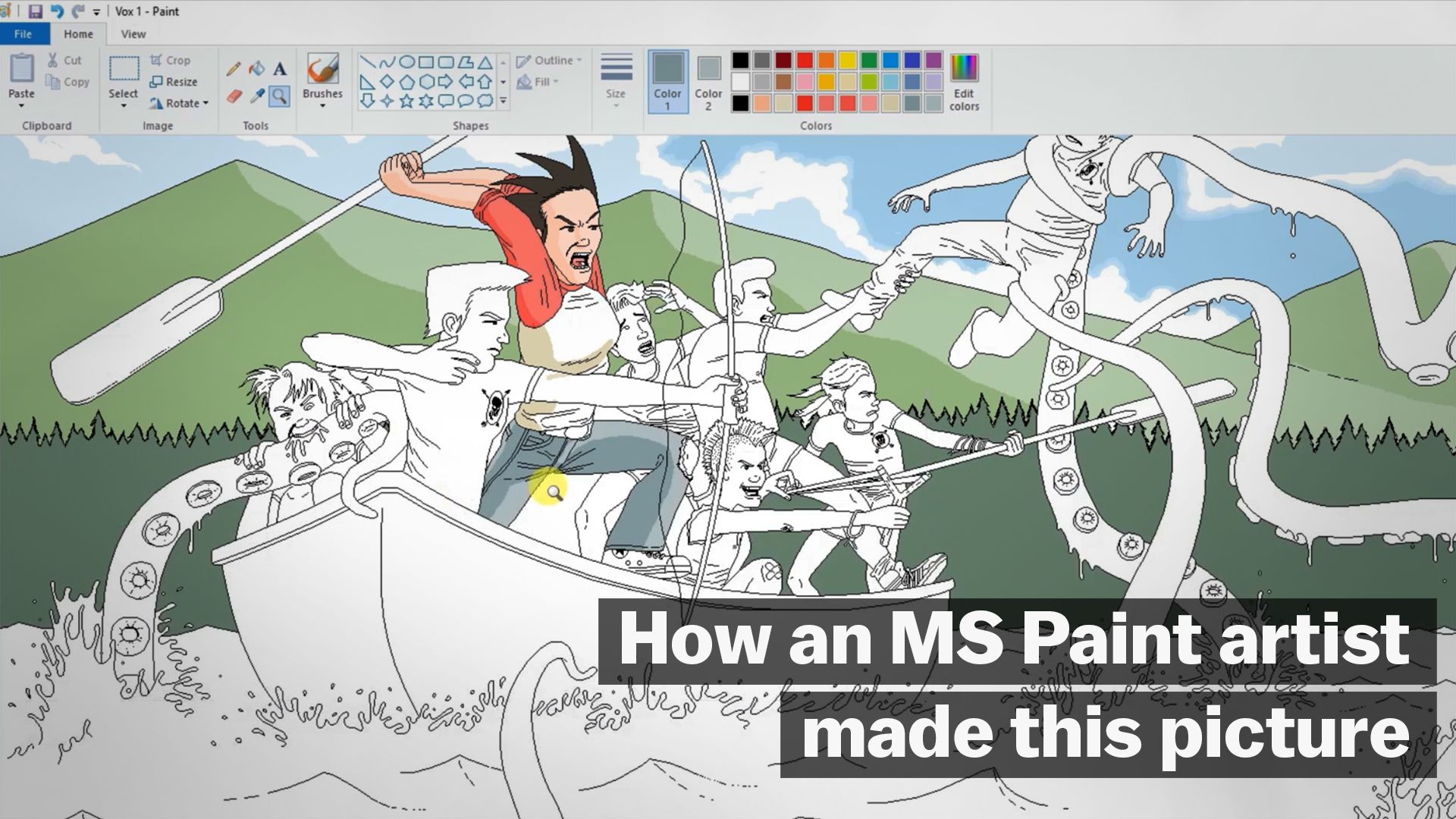 how an ms paint artist made this picture vox