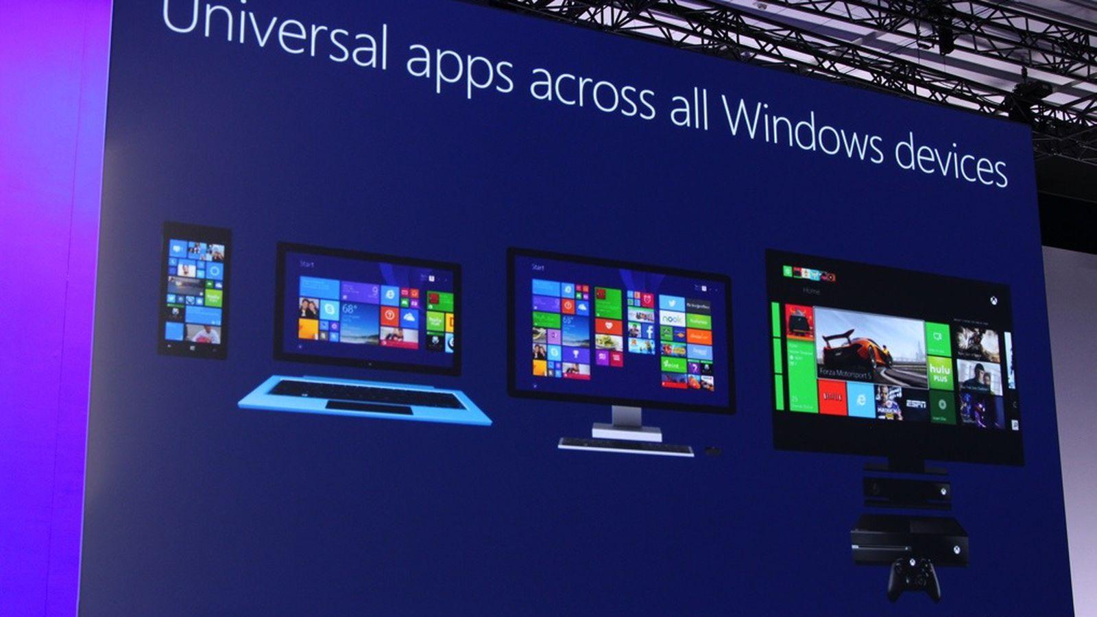 Windows apps...Xbox 1020