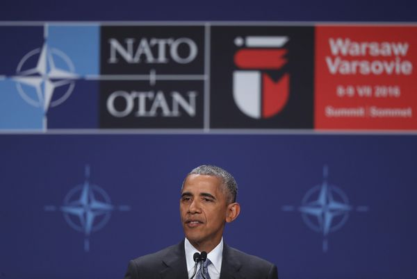 The current president at NATO.