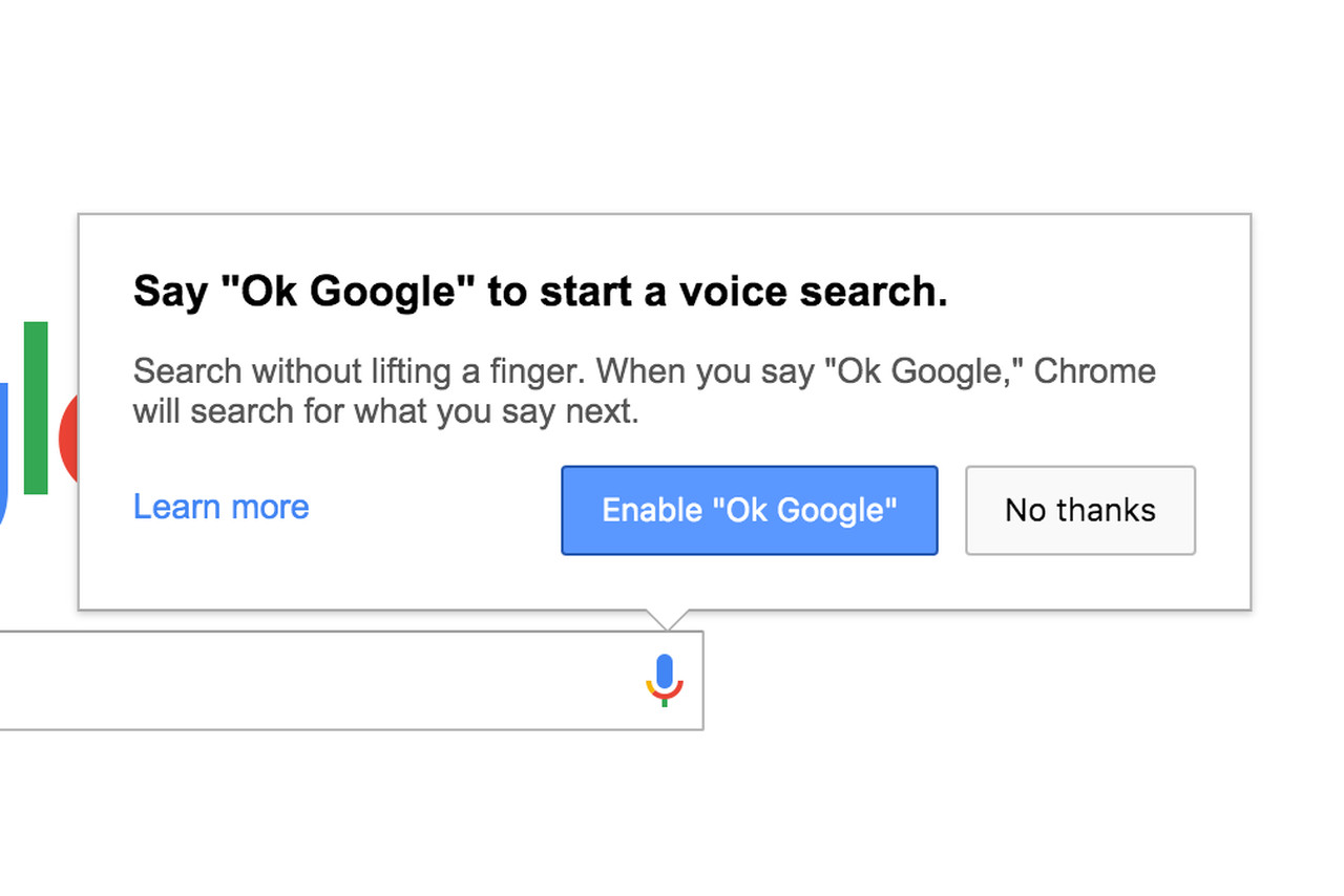 Chrome removes always-on 'OK Google' voice search on ...