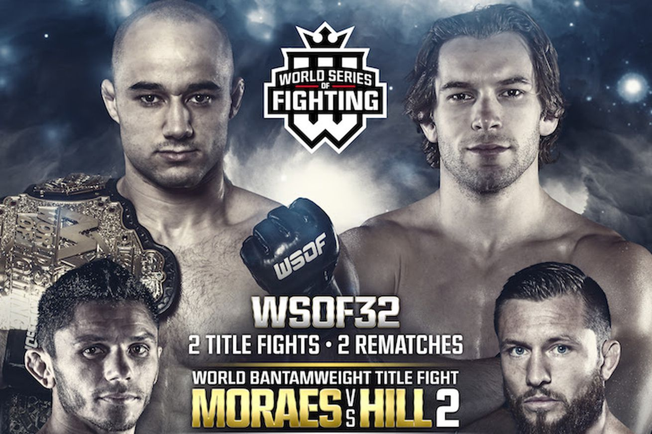 community news, LIVE! Watch WSOF 32 fights online for Moraes vs Hill 2 undercard
