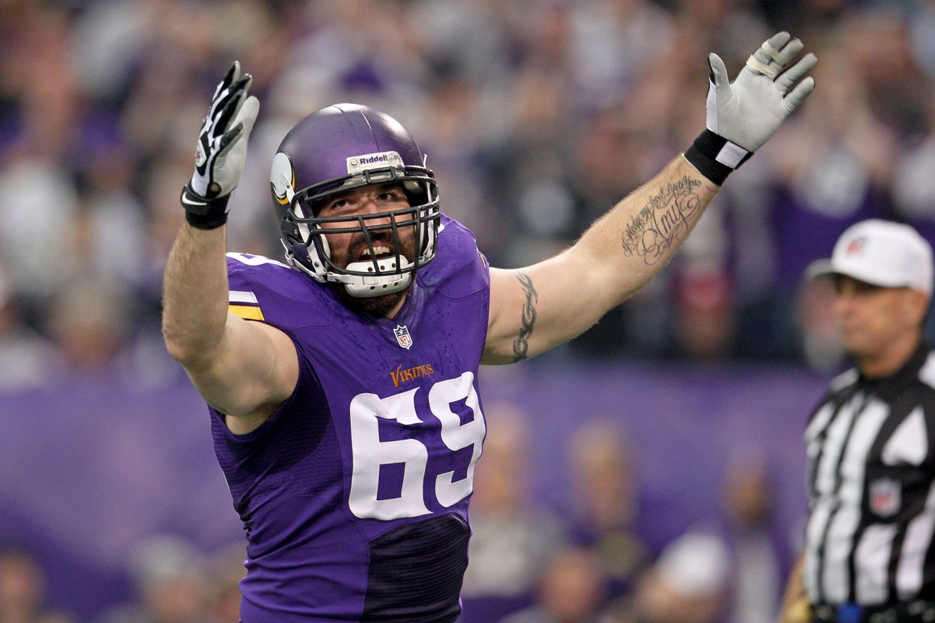 Jared Allen to retire as a Viking