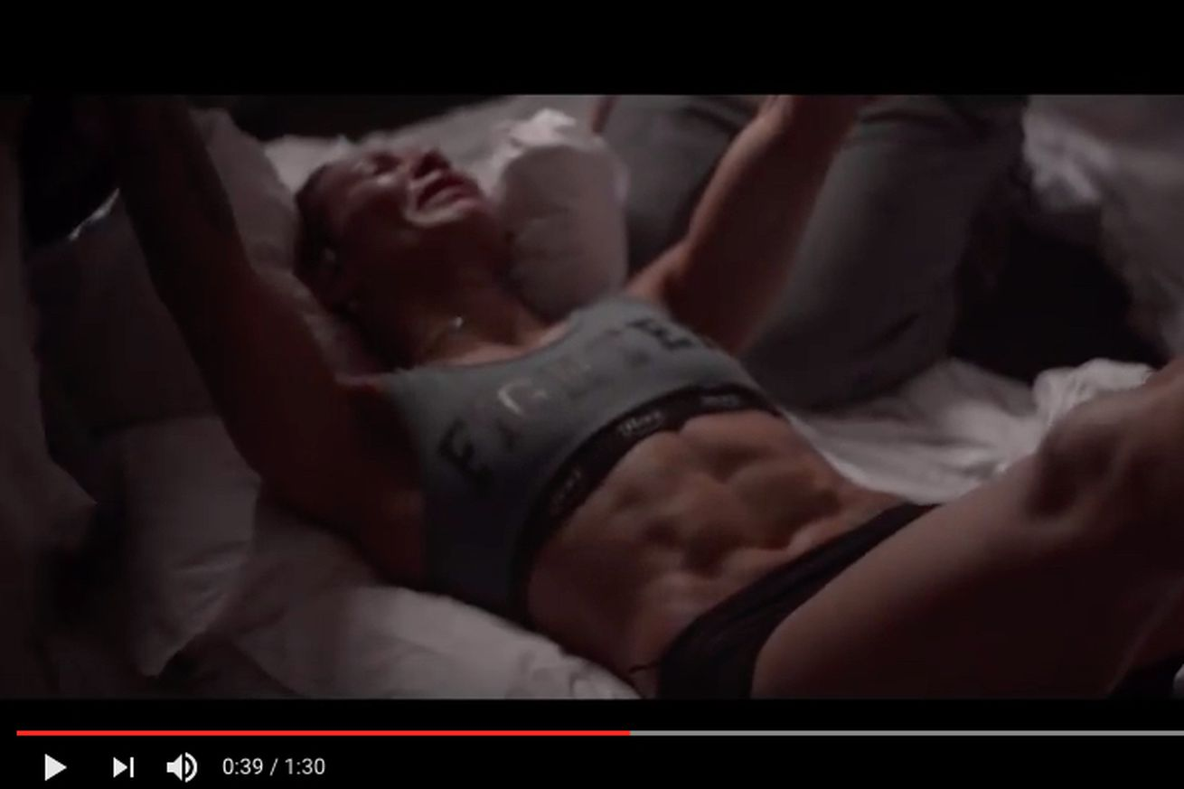 Video: Behind the scenes footage reveals brutal weight cut for crying Cris Cyborg