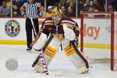 BIG10: Gophers Adam Wilcox, The Man In The Iron Man Mask