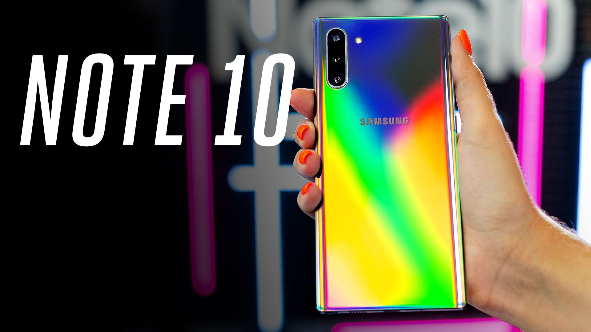 Samsung Galaxy Note 10 breaks cover in these first 'official