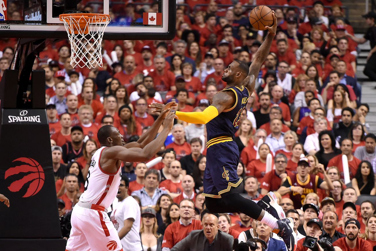 Cavaliers vs. Raptors 2016 results: LeBron James advances ...