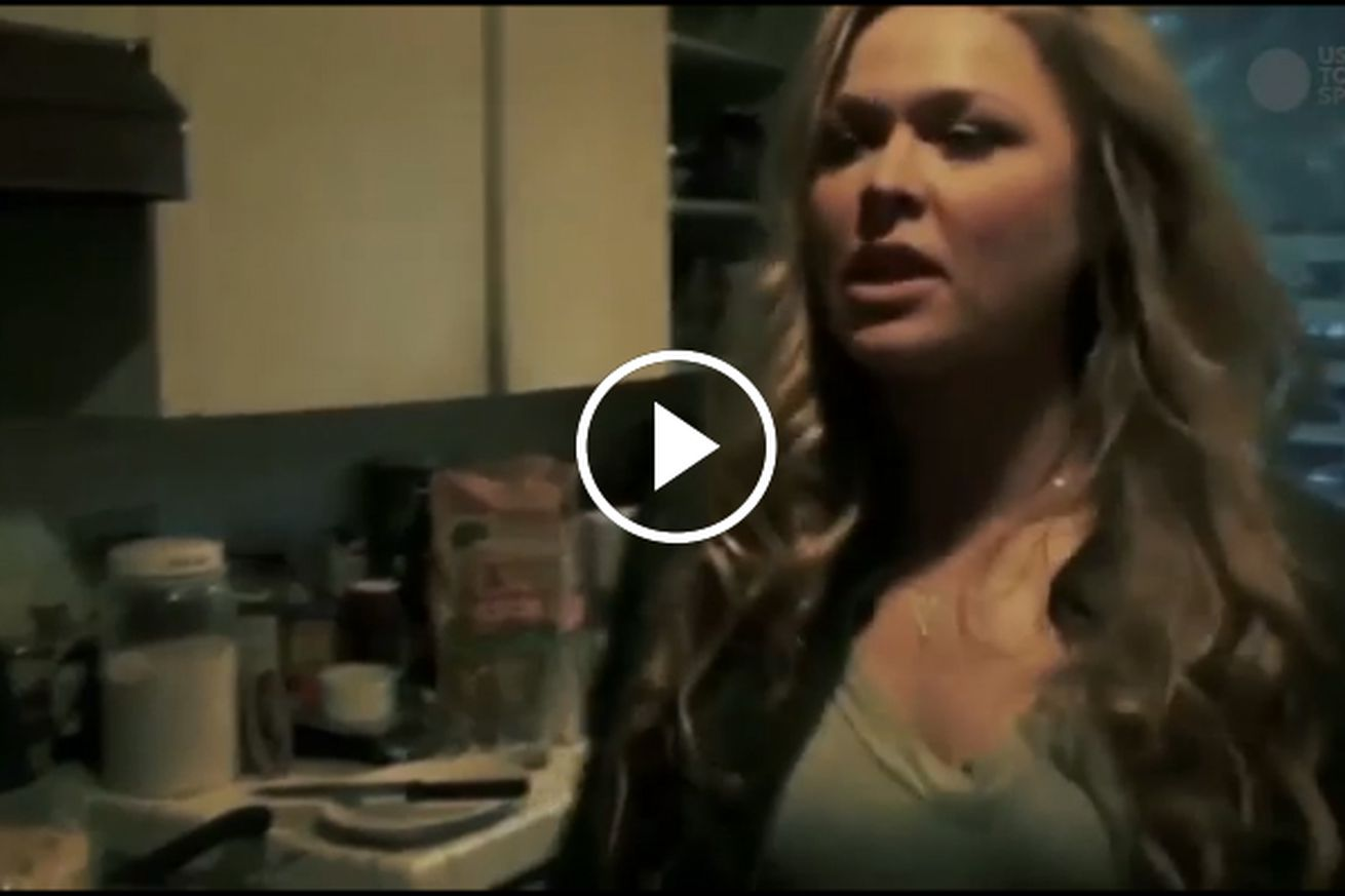 community news, Video: Sneak peek of Ronda Rousey documentary shows former UFC champ living in hellish squalor