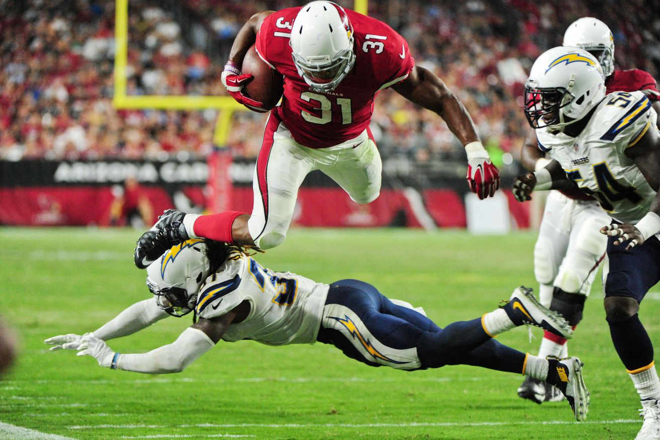 Chargers shut down Cardinals 19-3