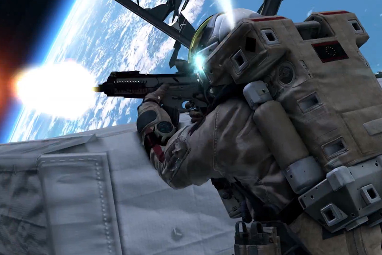 Watch astronauts shoot guns in space in new 'Call of Duty ...