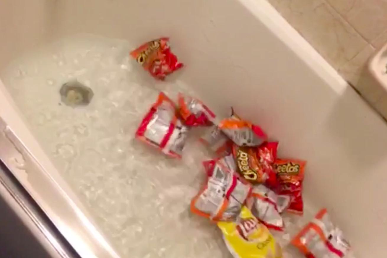 Anything is a bath bomb if you throw it in a bath