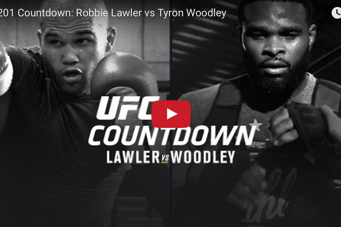 Replay! Watch Countdown to UFC 201: Lawler vs Woodley for July 30 PPV in Atlanta