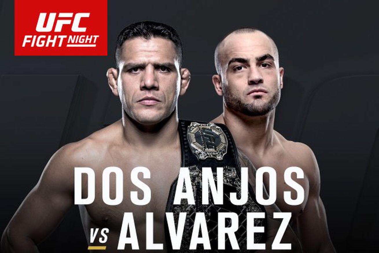 community news, Rafael dos Anjos vs Eddie Alvarez title fight set for June 7 on UFC Fight Pass
