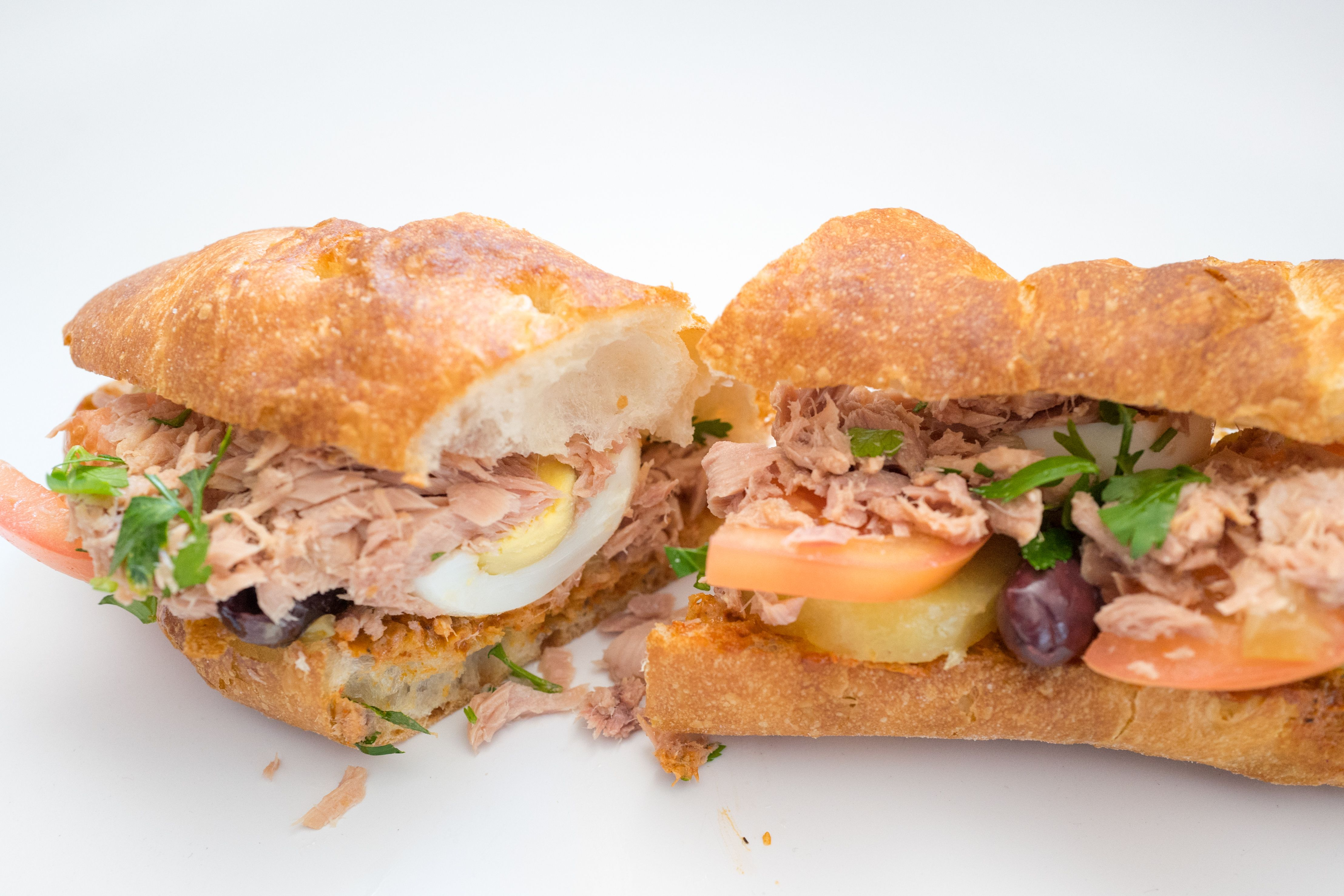 We need to talk about the tuna fish sandwich at breads for Tuna fish sandwich
