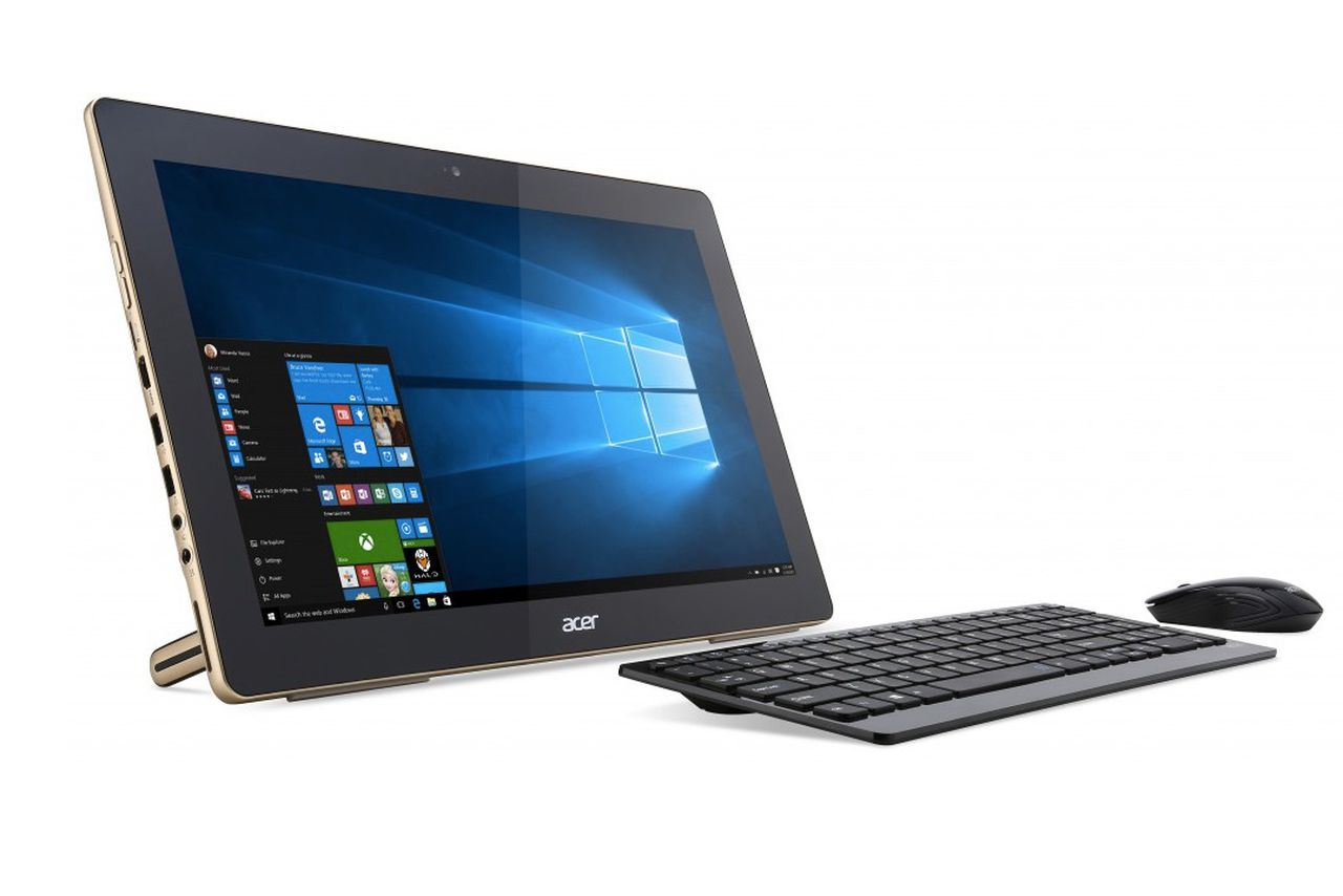acer 39 s new portable all in one windows 10 pc is already old news the verge. Black Bedroom Furniture Sets. Home Design Ideas
