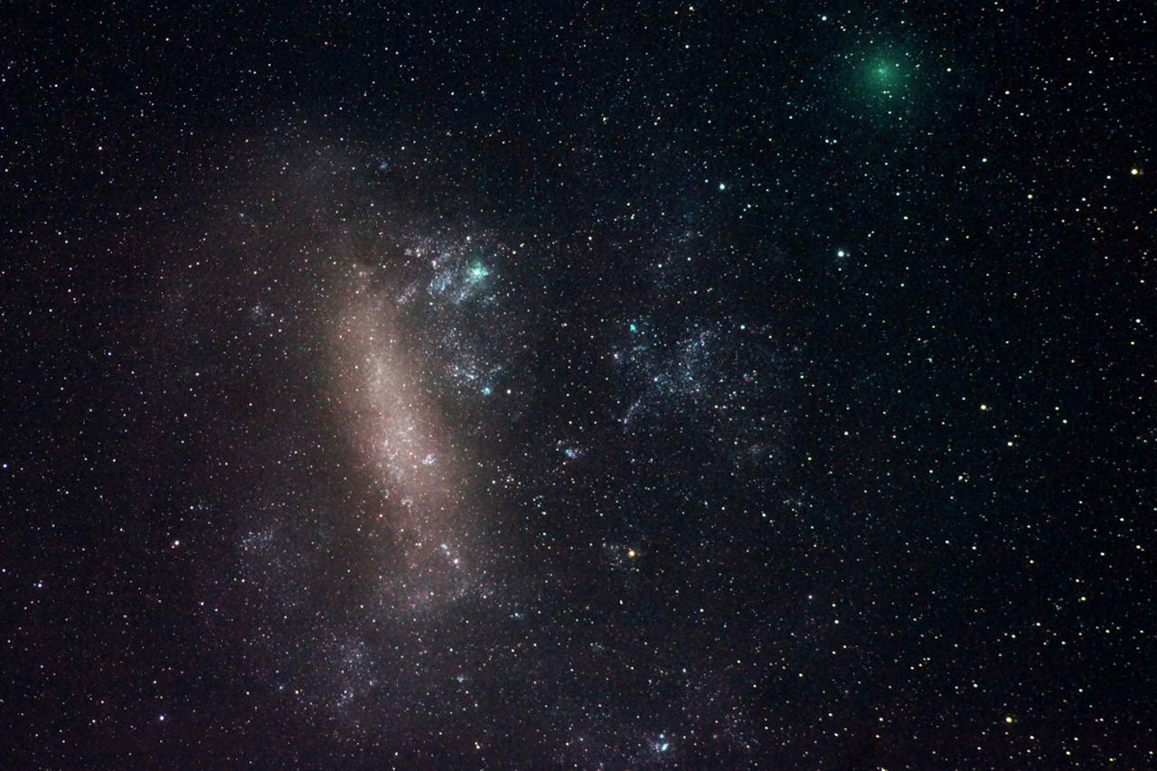 Comets To Pass Earth
