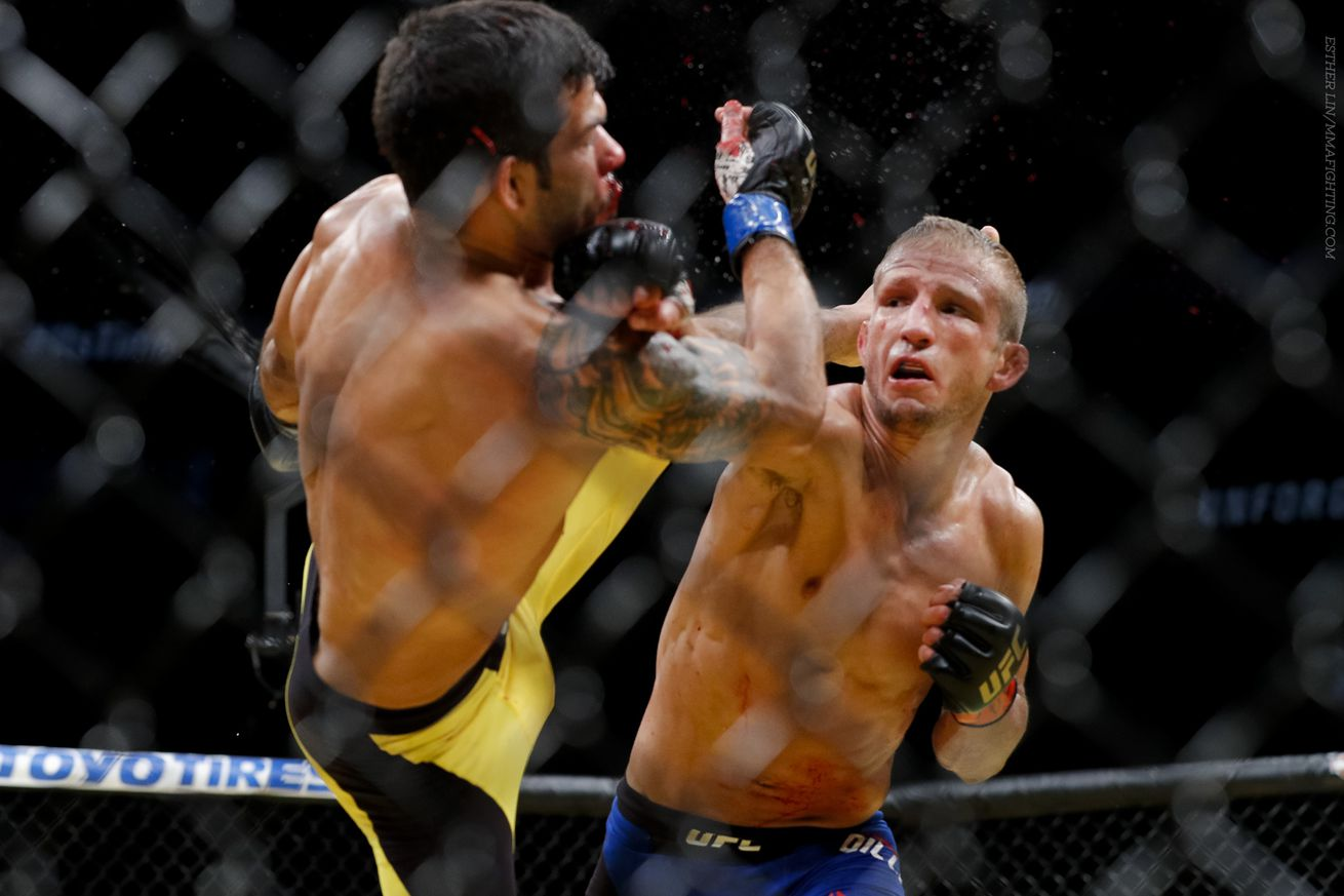community news, T.J. Dillashaw slams the UFC for treating fighters like employees minus the benefits