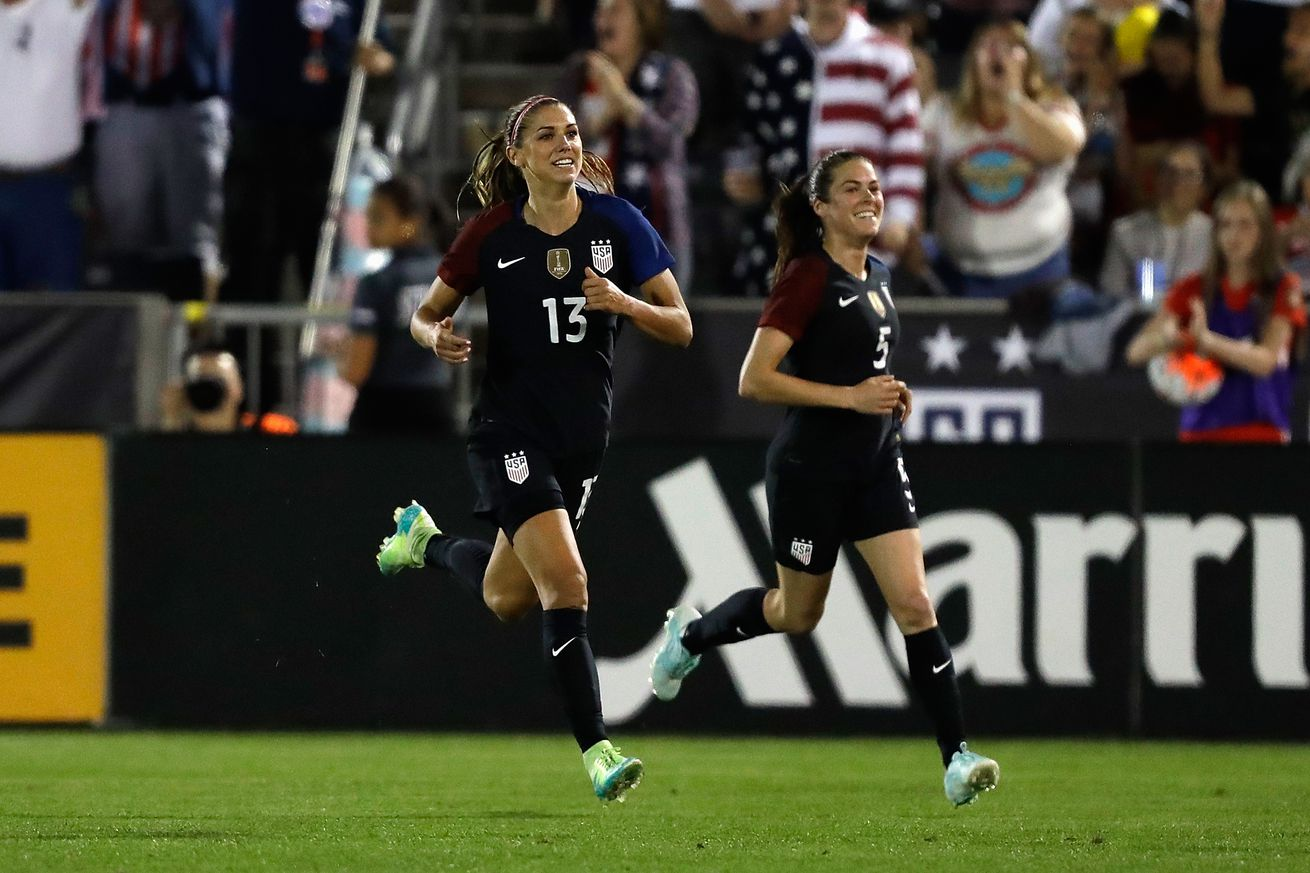 A healthy Alex Morgan makes a statement in Olympic opener