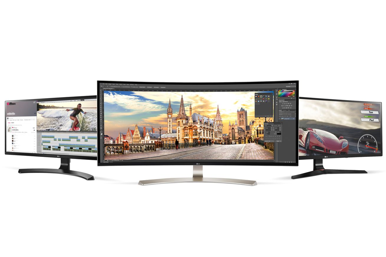 LG announces huge new ultra-wide monitor with built-in Google Cast