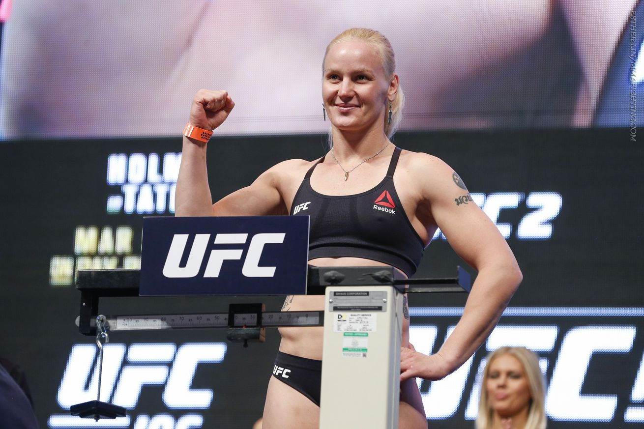 Despite being caught in shootout, Valentina Shevchenko never considered pulling out of Holly Holm fight