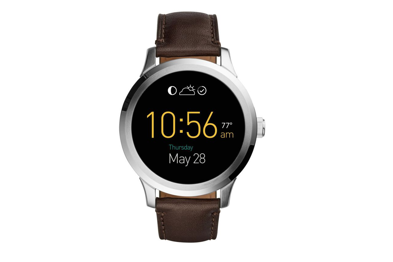 Fossil Reveals Its Android Wear Smartwatch The Verge