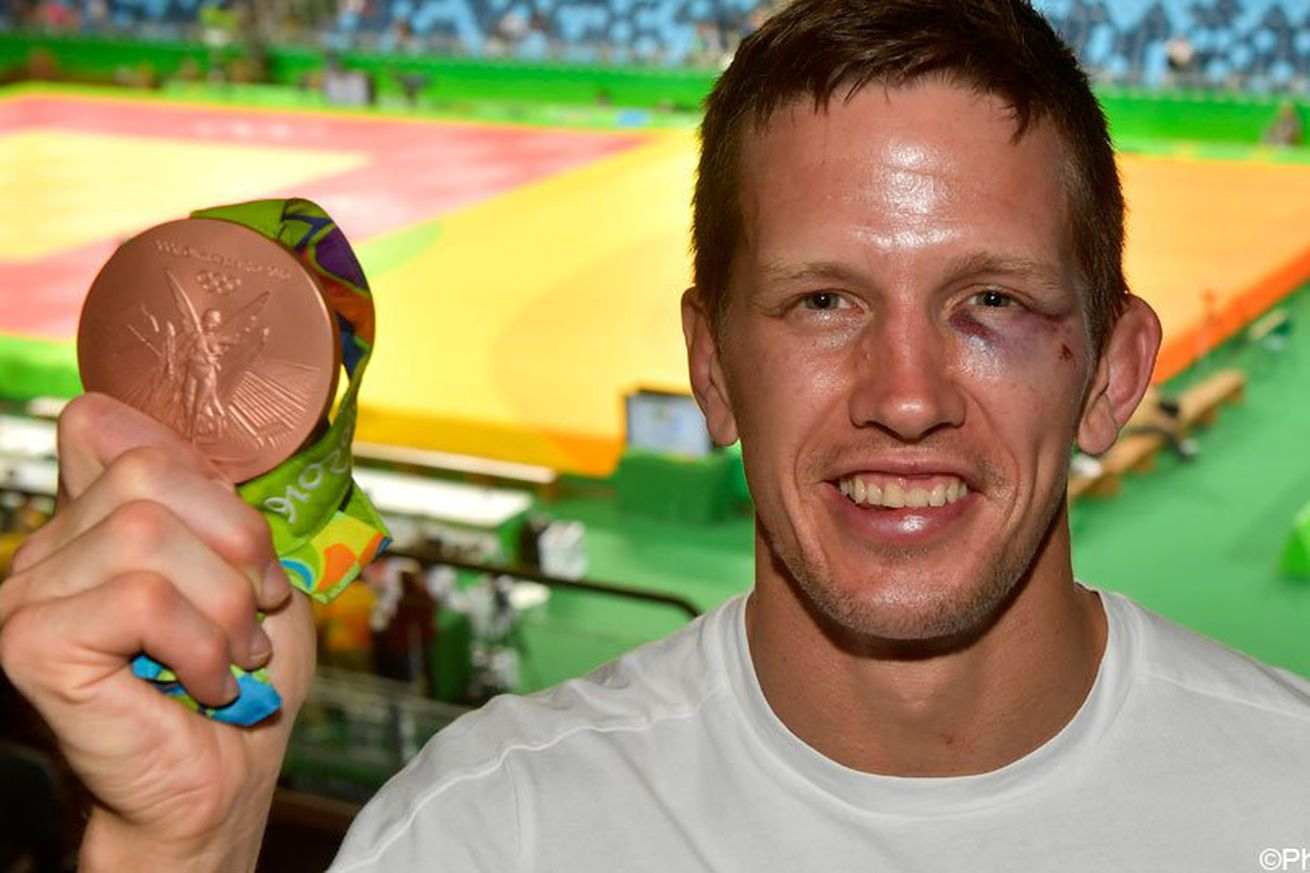 Pic: Olympic medalist beat up, robbed on beach in Rio