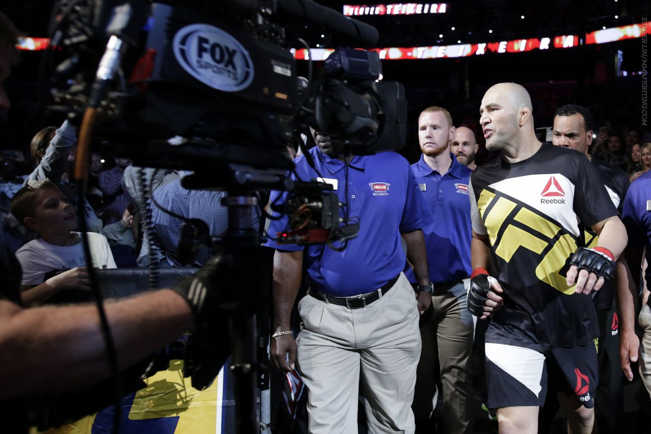 Glover Teixeira called out Anthony Johnson to give him a job while title picture sorts out
