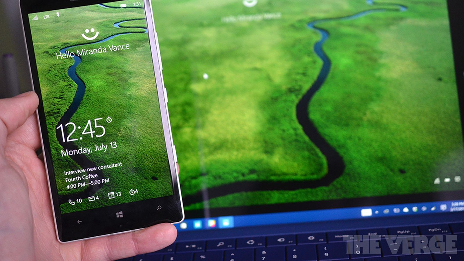 Windows 10 Mobile will support fingerprint scanners this summer | The Verge