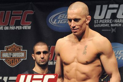 Georges St. Pierre: Large and fast weight cuts are often done with drugs