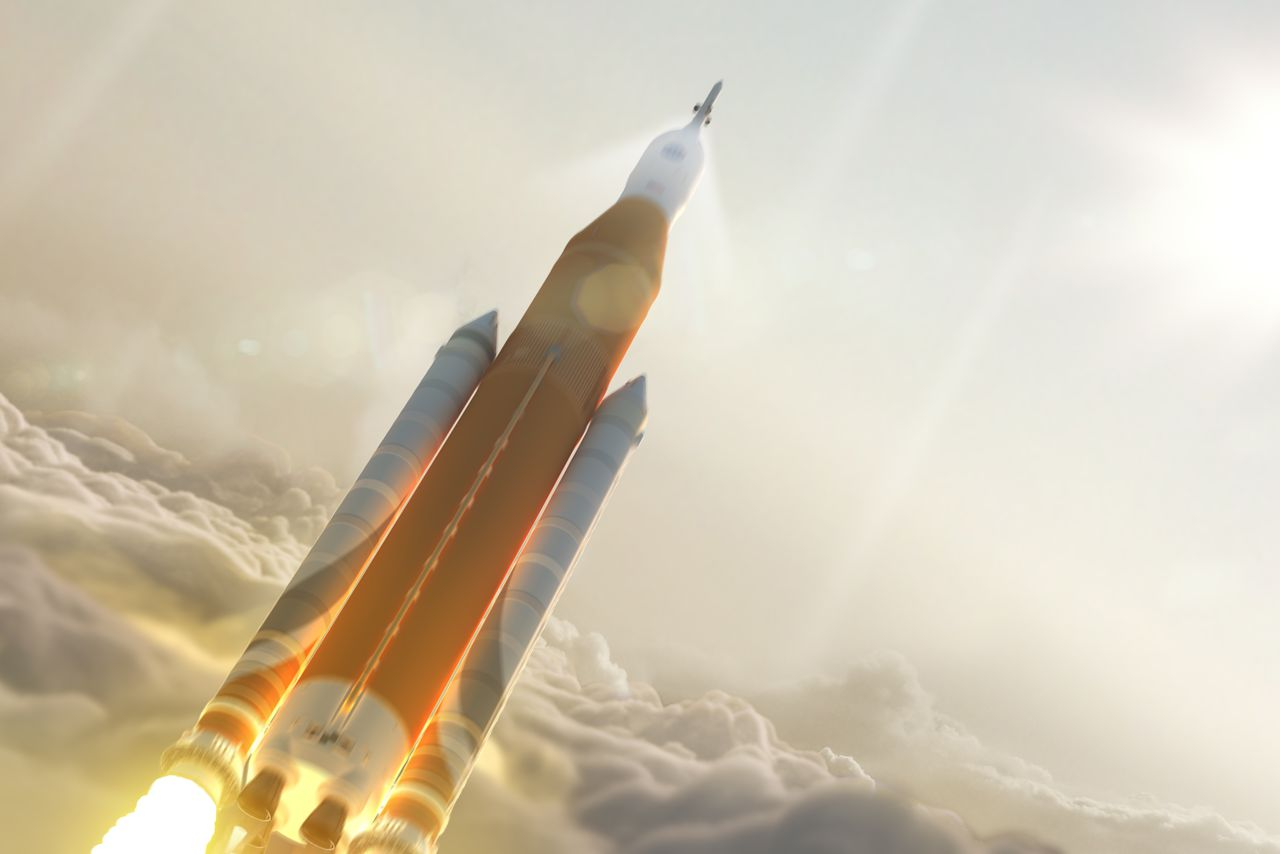 The first flight of NASA's next big rocket will carry a ...