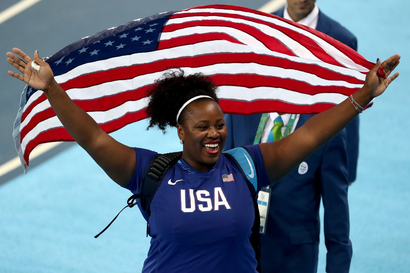 2016 Olympics, track and field results: Michelle Carter ...