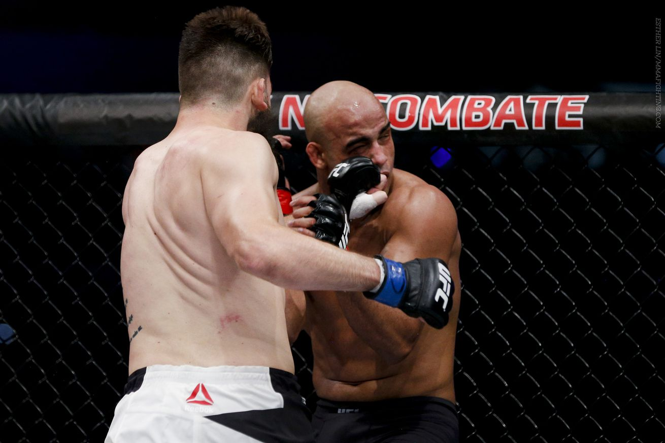 UFC 198 medical suspensions: Warlley Alves potentially out six months with broken orbital bone