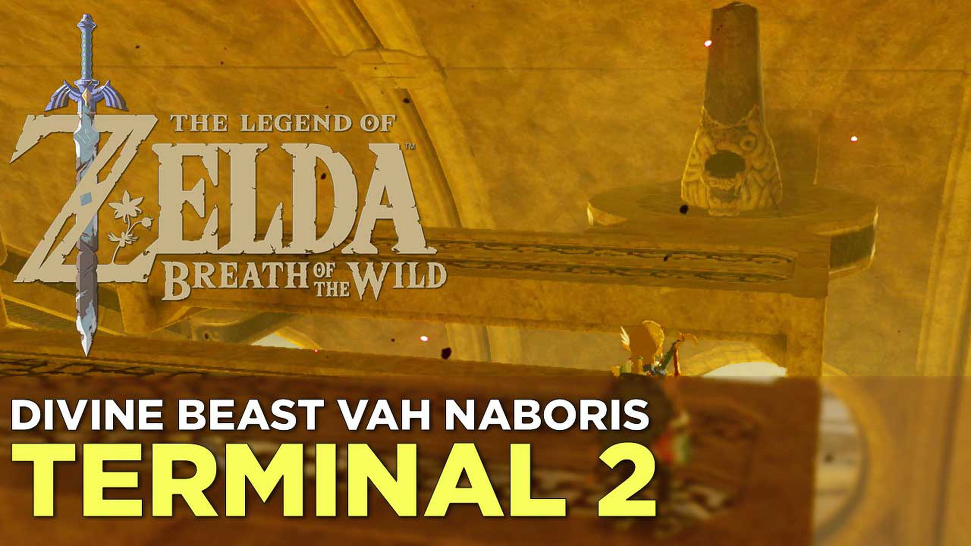 The Legend Of Zelda Breath Of The Wild Divine Beast Vah Naboris Main Quest Guide And Walkthrough Polygon