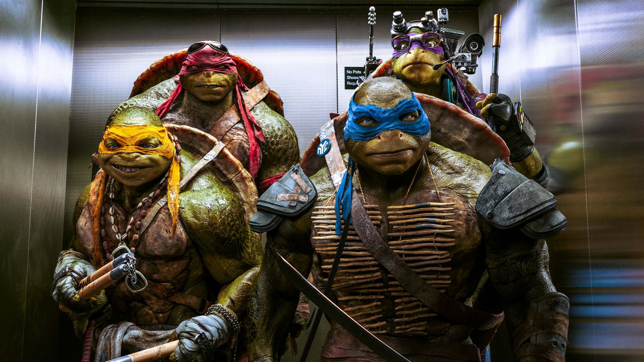 Teenage Mutant Ninja Turtles: Out of the Shadows (2016) full Hindi Dubbed Movie Watch Online