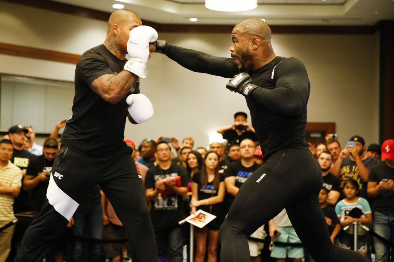 community news, After knee injury and setbacks, Rashad Evans says he drew inspiration from Dominick Cruz
