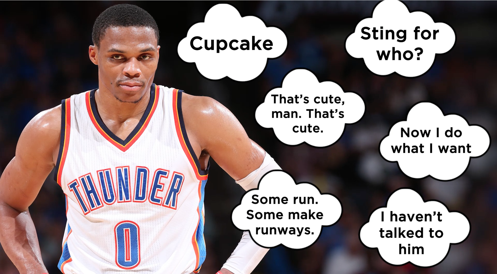 d1bf9c5efb3b Russell Westbrook has spent the last 4 months taking subtle shots at Kevin  Durant - SBNation.com