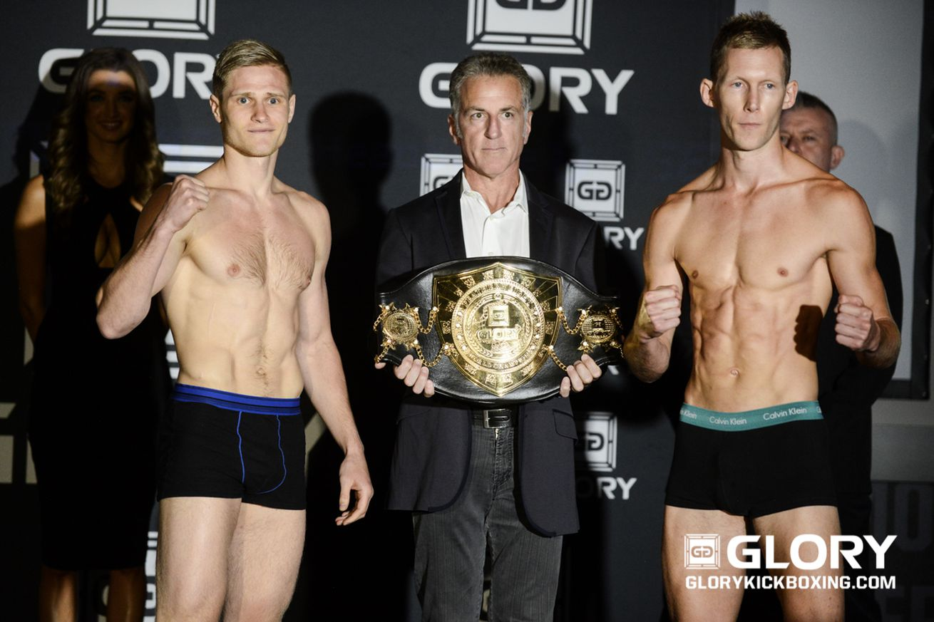GLORY 32 weigh in results for Adamchuk vs Varga