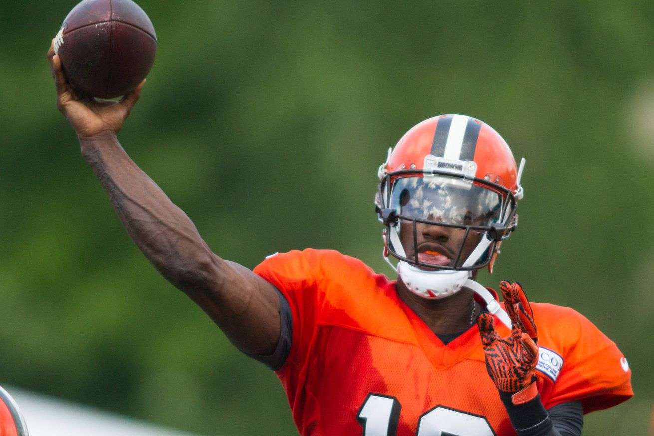 Browns expected to name RGIII as starting quarterback