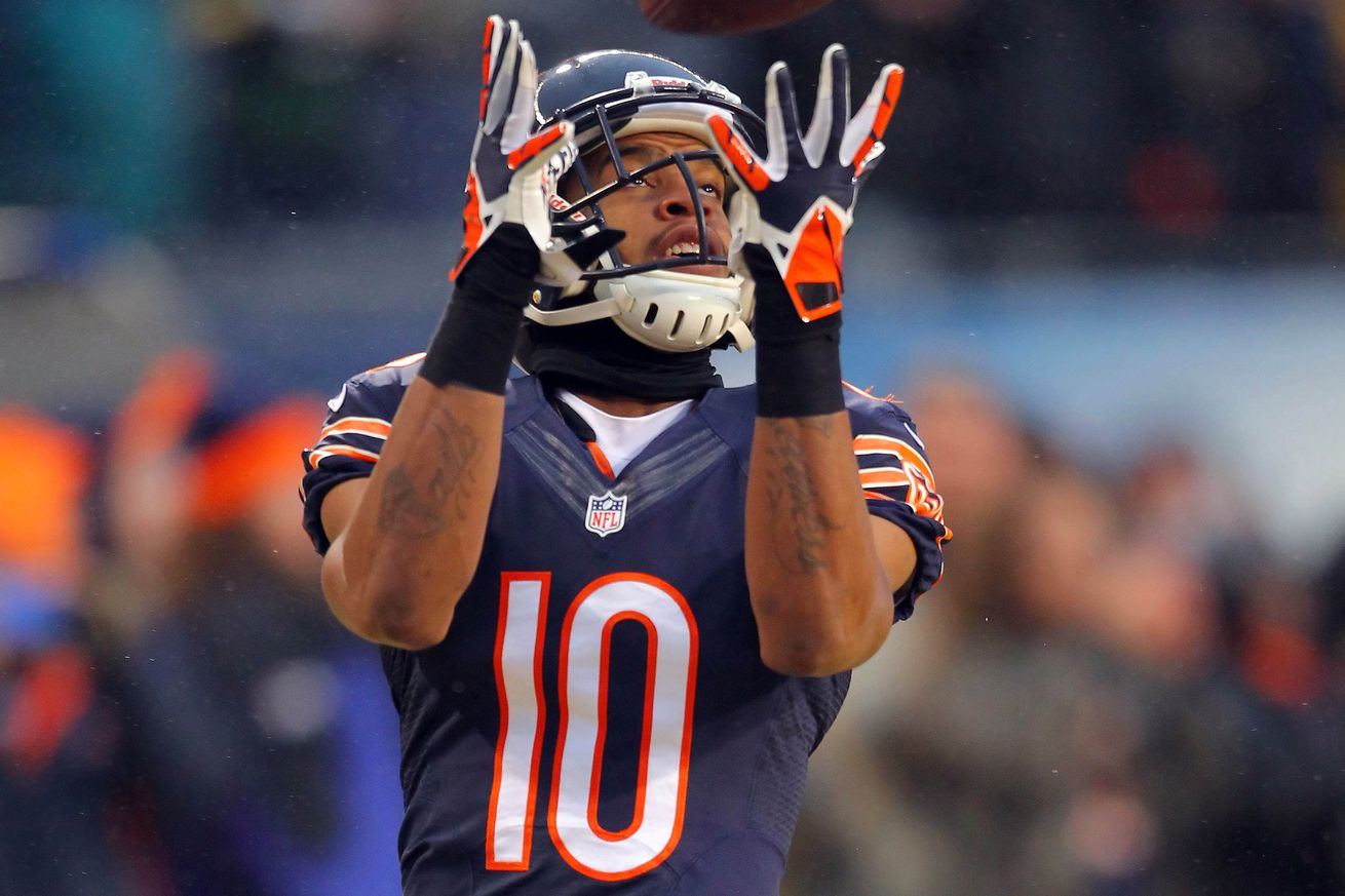 GAME Chicago Bears Marquess Wilson Jerseys