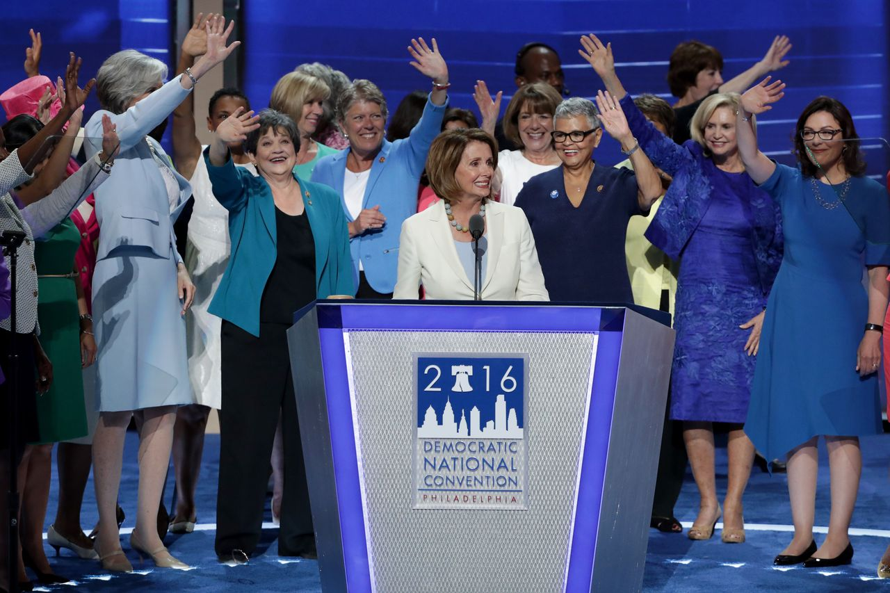 Day Two of the Democratic Convention