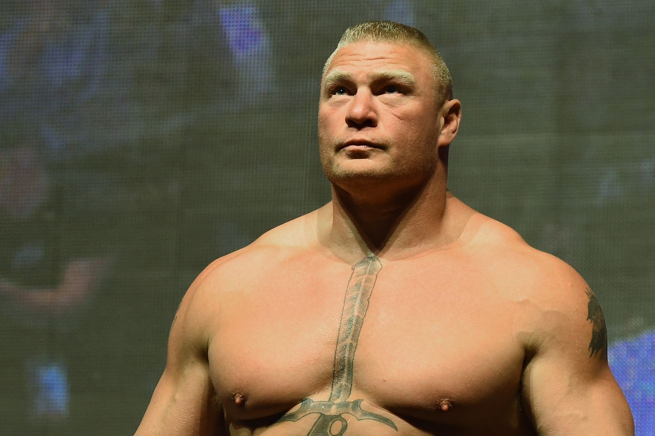 community news, Hit me or kiss me! Brock Lesnar involved in bizarre scuffle with WWE co star